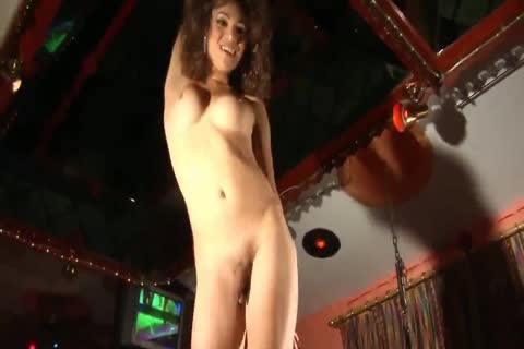 LADYBOY - Pool Dance With massive ramrod